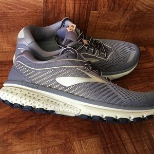 Brooks Ghost 12 Blue Road Running Sneakers Shoes